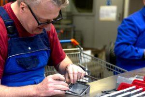 Montageabteilung der Behindertenwerkstatt Reinsdorf