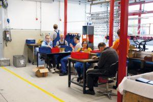Fertigung Behindertenwerkstatt in Reinsdorf