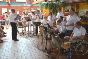 Musikgruppe der Behindertenwerkstatt Reinsdorf